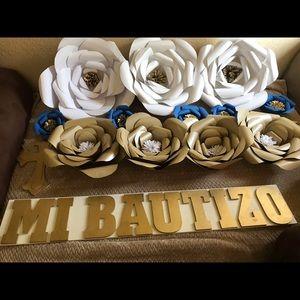 Bautizo decorations